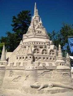 Another Work of Art, Sand Castle