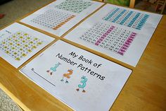 Finding Patterns in a Hundred Chart: Free printable pattern book and a list of fun hundred board activities to use in the classroom!