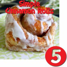 Try Rhodes Best of 2013 recipes! Simple Cinnamon Rolls!  Rhodes Cinnamon Rolls that are like homemade!