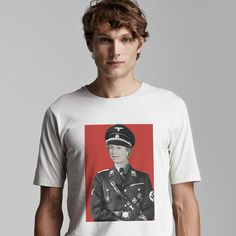 Organic T-Shirt With Queen Pop-Art Print - Brown Boy India - Fair-Trade + Organic T-Shirt - Sustainable Fashion