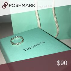 Tiffany & co infinity ring size 7 infinity ring, in great condition! Tiffany & Co. Jewelry Rings