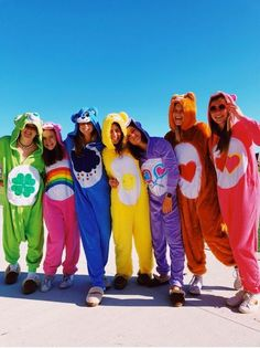 Best DIY Group Halloween Costumes for your girl squad Best DIY Group Halloween Costumes for your girl squad. Hallowen costumes Best DIY Group Halloween Costumes for your girl squad hallowen costumes , Cute Group Halloween Costumes, Best Friend Halloween Costumes, Halloween Parties, Disney Group Costumes, Care Bears Halloween Costume, Costume Ideas For Friends, Costume Ideas For Groups, Cute Girl Halloween Costumes, Best Group Costumes