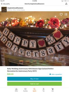 25th wedding anniversary decorations: Thrifty and easy decorations ...