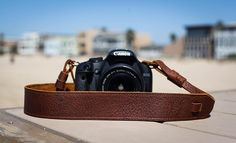 Brown Leather Camera Strap for DSLR or SLR camera, DSLR Camera Strap. Camera accessories. Canon camera strap. Nikon camera strap *** Check out this great product. (This is an Amazon Affiliate link and I receive a commission for the sales)