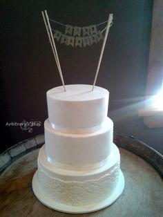 Dunedin wedding cakes - Arbitrary Cakes