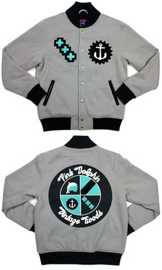 Jacket pink dolphin