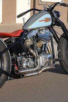 Harley Davidson Shovelhead By Iron Pit
