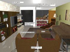 decoração Projeto de decoração da sala de estar, decorar Projeto de decoração da sala de estar