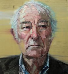 Colin Davidson...........Portrait of Seamus Heaney 2013 oil on linen 127 x 117 cm The collection of the Ulster Museum