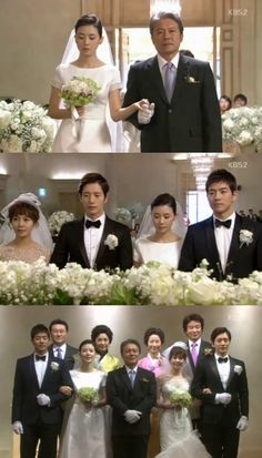 """""""My Daughter Seo Young"""" 2 Couples, 1 Wedding """"Happy Ending""""    - and that's how you wrap a good drama hihi (gotta write my review on the video later on) xD"""