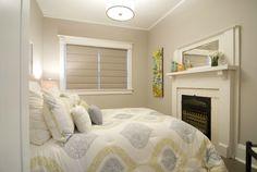 artwork by Sheila Davis Income Property Hgtv, Bedroom Ideas, Bedroom Decor, Nursery Decor, Basement Bedrooms, Basement Ideas, Small Spaces, Master Bedroom, Sweet Home