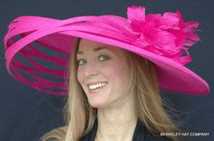 Saturnalia Ringed Kentucky Derby Hat