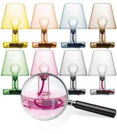 The Fatboy Transloetje lamp 8 radiant colours