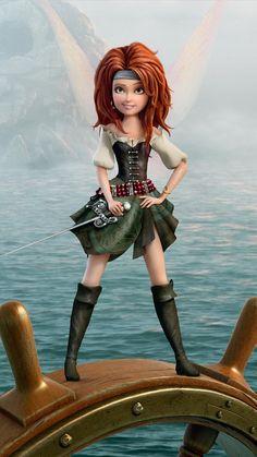 Campanilla - Zarina guardiana del polvo de hadas - Hadas y Piratas