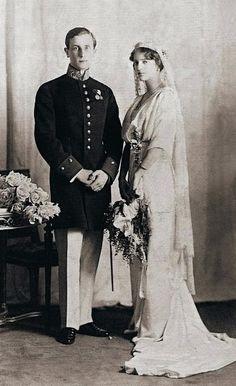 Princess Irina Alexandrovna and Prince Felix Yusuopov.