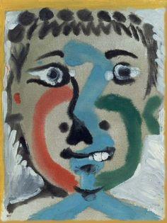 """Pablo Picasso, """"Head boy"""", 1964"""