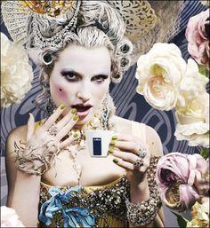 Antoinette HAIR  Flickr - Photo Sharing!                                                                                                   Marie Antoinette  style  JW #rococco return