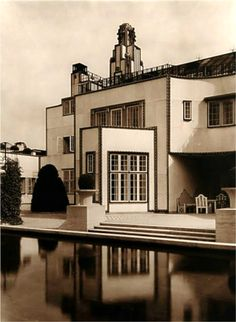 Palais Stoclet, Bruxelles, 1905 by Josef HOFFMANN and the Wiener Werkstätte group