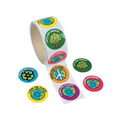 Save the Earth Roll of Stickers - OrientalTrading.com