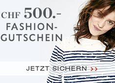 Gewinne mit Street One einen Einkaufsgutschein im Wert von 500.- für den Street One Online-Shop!  Mach gratis mit und gewinne 500.- für deinen Kleiderschrank.  Nimm hier teil: http://www.gratis-schweiz.ch/einkaufsgutschein-von-street-one-gewinnen/  Alle Wettbewerbe: http://www.gratis-schweiz.ch/