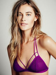 Intimately Strappy Front and Back Bra at Free People Clothing Boutique