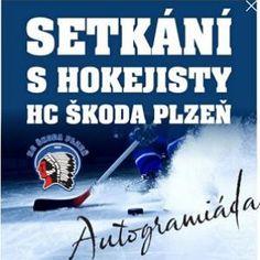 AUTOGRAMIÁDA s HC ŠKODA PLZEŇ