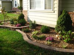 1st Year Fall Retaining Wall Made With Crestone Ii Autumn Blend