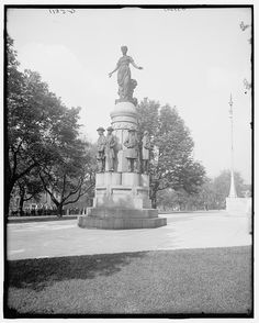 """[Columbus, Ohio, memorial in Capitol grounds : """"These are my jewels""""]"""