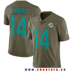mens miami dolphins 14 jarvis landry olive 2017 salute to service stitched nfl nike limited jersey