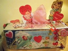 Happy Vintage Valentines to all..   I recreated this with a …   Flickr