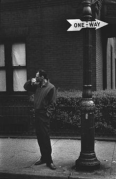 Arthur Miller New York 1954 Photo: Elliott Erwitt