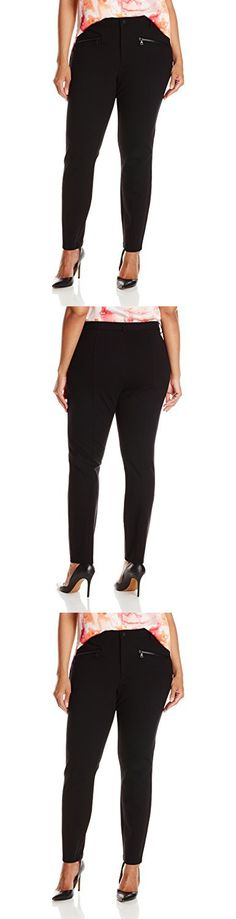 26db725f6f0 NYDJ Women s Plus-Size Zip Ponte Leggings