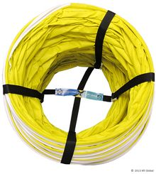 DogSport Magazine Overstock and Discounted Tunnels and accessories for Sale. Tunnel Leash.