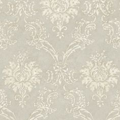 Grey Devon Damask QE14024 Wallpaper - Indoorwallpaper.com