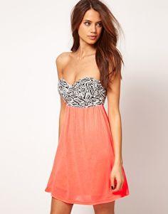 dress, tribal & coral