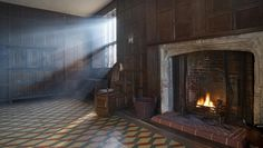Sutton House, a National Trust Tudor house, is an unexpected architectural pleasure in the heart of Hackney, East London.