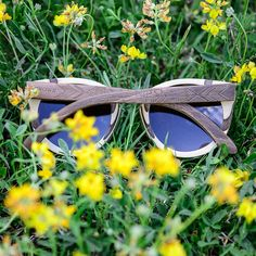 GROWN® Sustainable Wooden Eyewear | Bamboo Sunglasses — 'CARVE' Maple (Engraved) - $124.95