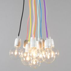 Lampa wisząca Cavo #multikolorowelampy #barwnelampy #kolorowalampa