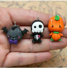 Cute halloween charms