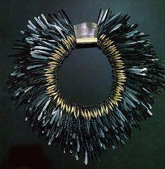 Tone Vigeland, Necklace of Flattened Nails