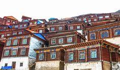 Tibetan houses Image Credit: Miguel Cano