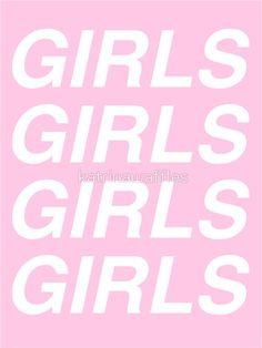 c123069a10  girls girls girls - sapphic  Sticker by katrinawaffles.