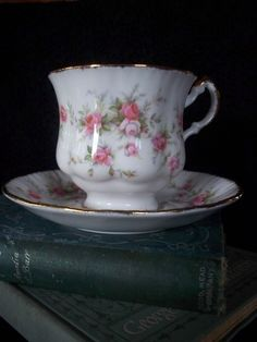 Vintage Tea Cup  Paragon Cup Saucer by heritagegeneralstore, $19.75
