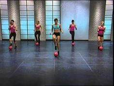 Boost your calorie burn and tone your abs, hips, thighs, shoulders and arms with The FIRM Power Ball. The Firm Workout, Step Workout, Workout Videos, Exercise Videos, Exercise Ball, Cardio, Tabata, Take Care Of Your Body, Personal Fitness