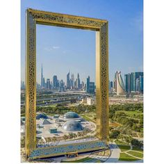 The Beautiful and Eye Catching Dubai Frame in UAE #UAE #UAEVoice #DubaiFrame