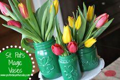 St. Pat's Magic Vases