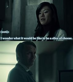 Texts from Hannibal's office - foreshadowing...