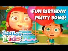 HAPPY BIRTHDAY - Fun Birthday Party Song - YouTube