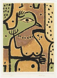 In 1900 volgt hij de schilderlessen van de symbolist Franz von Stuck aan de kunstacademie van München. Paul Klee probeerde opgenomen te worden in de afdeling beeldhouwkunst, maar hij wilde niet meedoen aan de verplichte toelatingstoets dus verliet hij München. Voor zijn vertrek verloofde hij zich in het geheim met Lily.