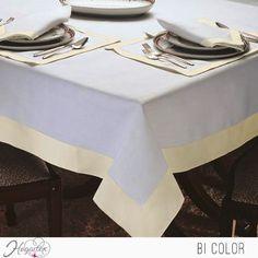 Mantel Bicolor Elegante mantel bicolor para todo tipo de eventos. ...
